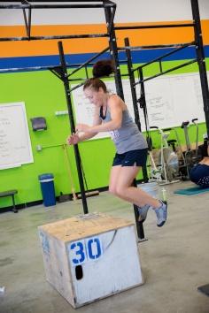 Sarah boxjump