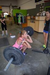 Staci squat